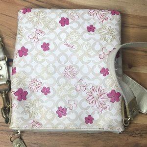 Coach Bags - Vintage Coach Waverly Floral Crossbody Bag Swing